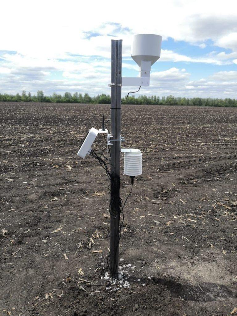 Датчик измерения влажности почвы от производителя