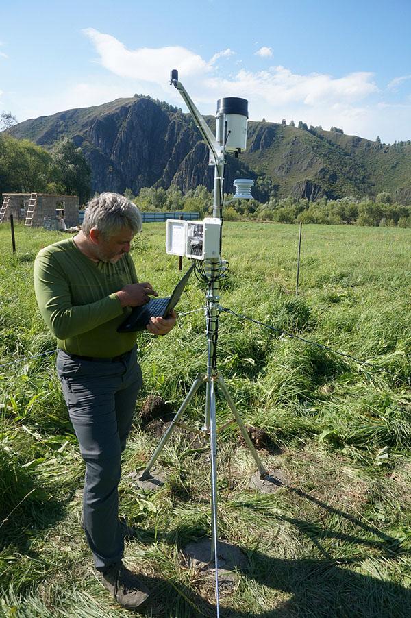 Наблюдения на метеостанции Kaipos