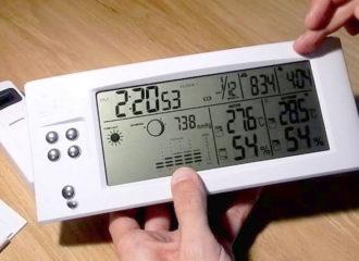 Цифровая метеостанция для дома